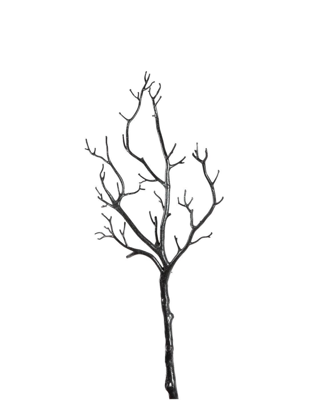 branche d 39 arbre avec des paillettes hastes ingarden. Black Bedroom Furniture Sets. Home Design Ideas